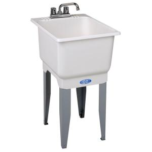 Mustee, E. L. & Sons, Inc. 18 in. x 34 in. Plastic Laundry Tub Model ...